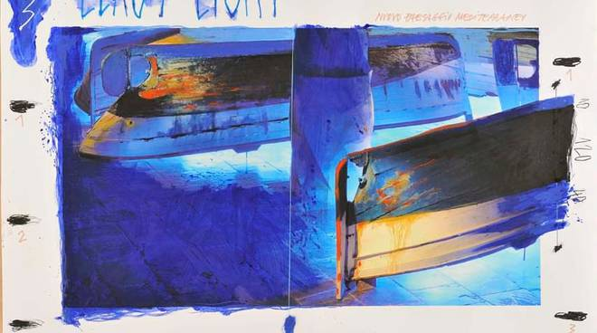 2 Plessi LLAUT LIGHT 2011 TECNICA MISTA SU CARTA CM. 100X150