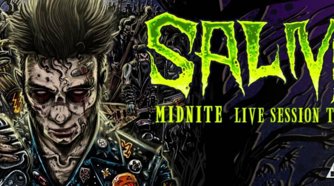 Salmo Midnite Live Sessione Tour