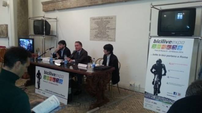 Conferenza stampa Biciliveexpo 2014