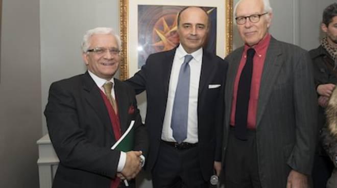 Massimo Duranti, Fabrizio Russo e Gianni Bulgari