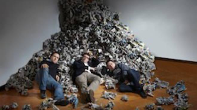 Newscron founders (Prato, Lardi, Palme)