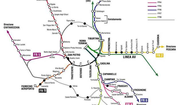 marchio famoso moda vendita online Roma: Ok per il pedaggio nell'anello ferroviario