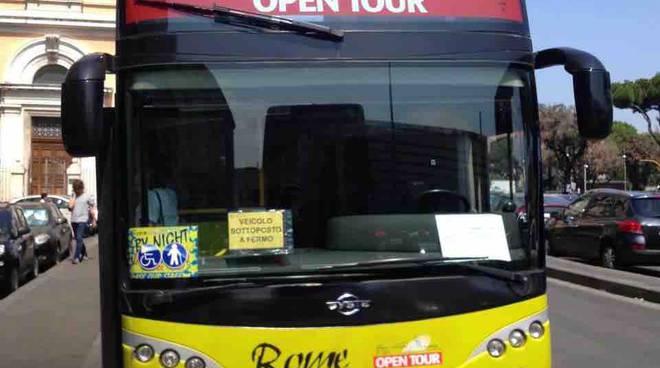 bus turistici senza autorizzazione