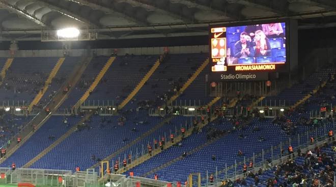Curva Sud Roma-Udinese