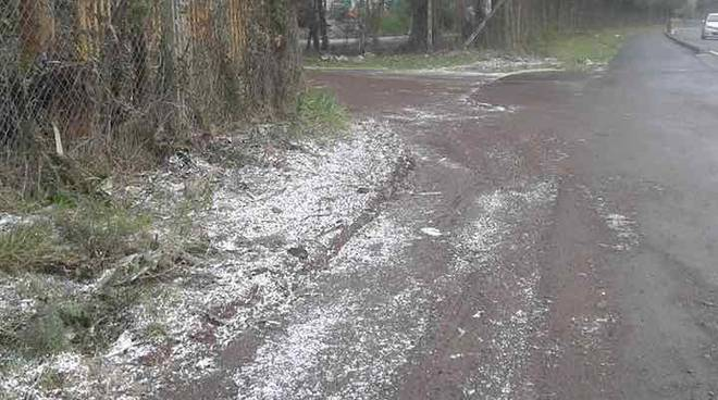 Neve a Roma (Facebook)