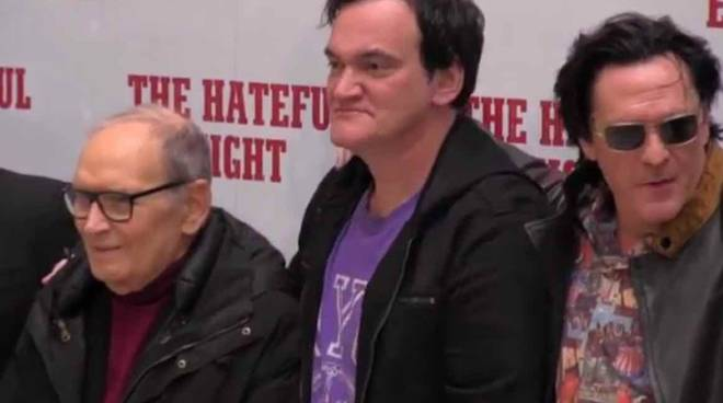 "Tarantino a Roma ""The Hateful Eight"""