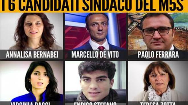 candidati sindaco m5s