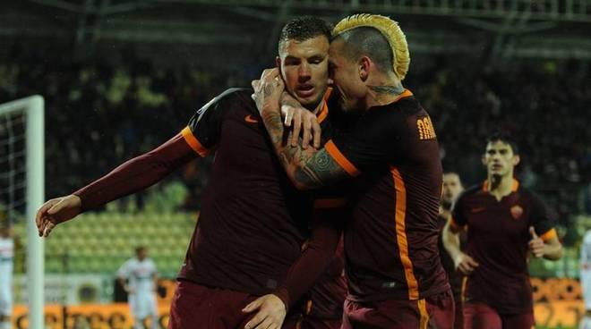 Dzeko Carpi-Roma