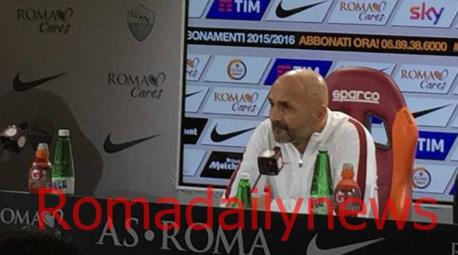 Spalletti in conferenza