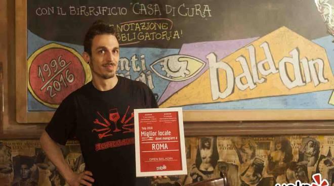 Yelp Open Baladin Roma
