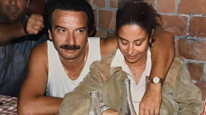 PATRIZIA CRUCIANI col marito Pino
