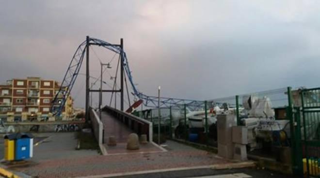 Ladispoli sotto choc per la disastrosa tromba d'aria di ieri.