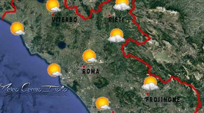 meteo roma domenica