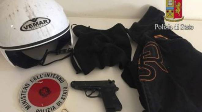 cronaca di roma rapina distributore benzina