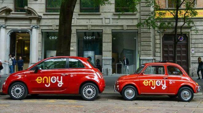 Da Napoli venivano a Roma per rubare le Fiat 500 Enjoy.