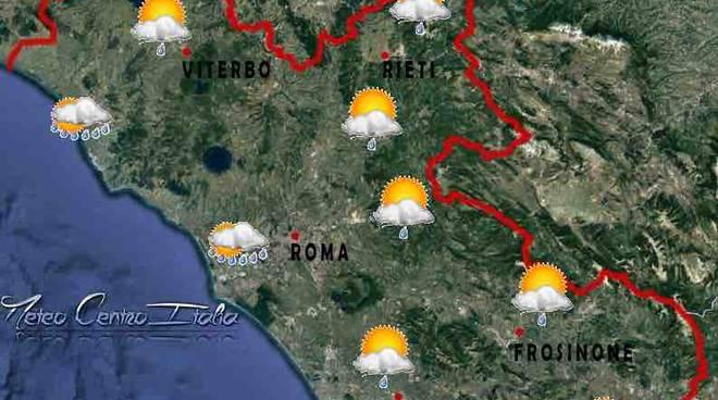 meteo roma previsioni