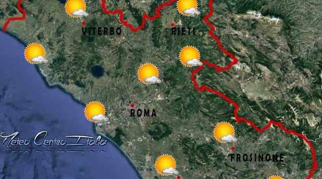 meteo roma - previsioni sabato 24 dicembre 2016