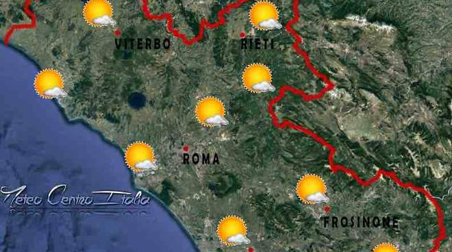 previsioni meteo roma sabato 17 dicembre 2016