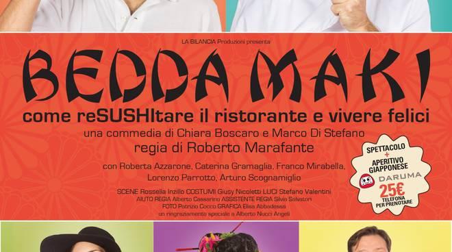 Eventi Roma - Bedda Maki al Teatro de' Servi