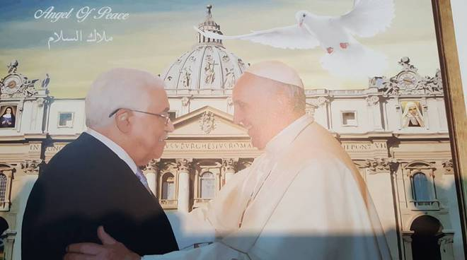 Papa Francesco ed Abu Mazen
