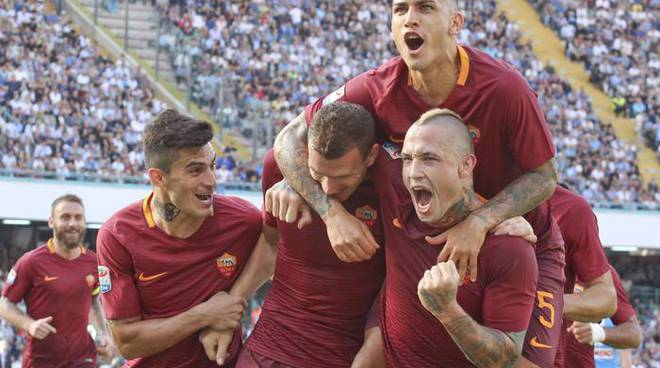 Soccer: Serie A; SSC Napoli-AS Roma