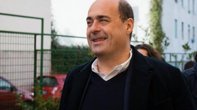 Il Presidente della Regione Lazio, Nicola Zingaretti