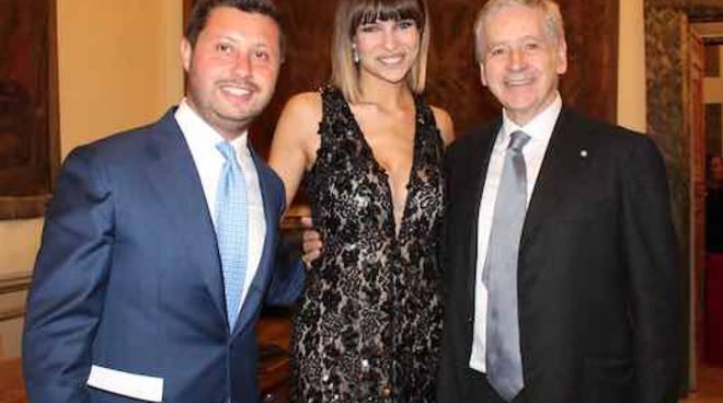 Attilio Lombardi Founder Ital Communications, Cristina Chiabotto e l'ambasciatore Giovanni Castellaneta Presidente WFP Italia