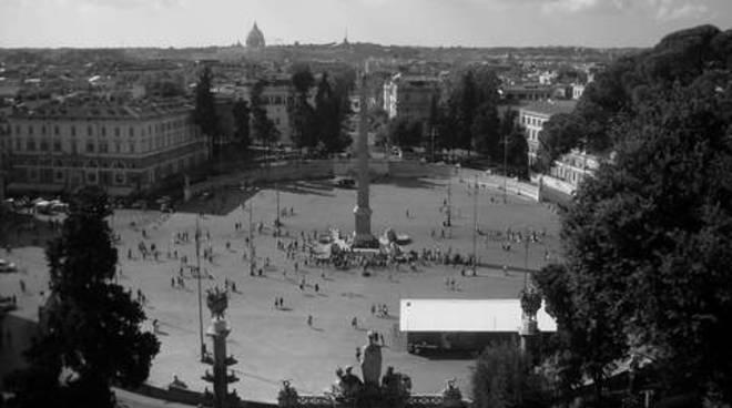 Piazza del Popolo dal Pincio