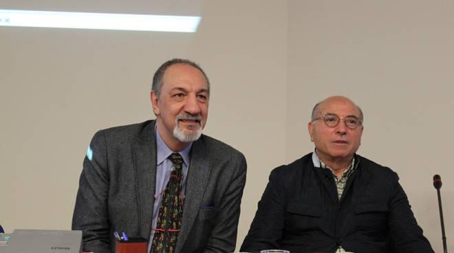 Enzo De Camillis, Ideatore del Premio e Giovanni Ciarlone Presidente della FITEL