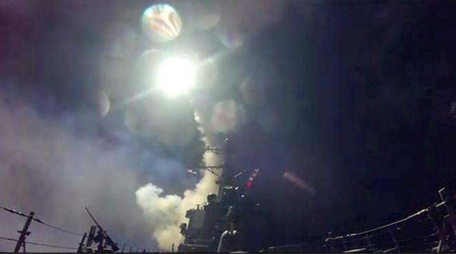 Lancio missili americani