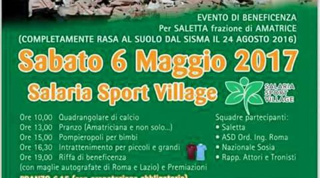 Fabrizio Pacifici presenta manifestazione per Saletta