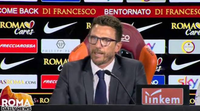 AS ROMA - Eusebio Di Francesco