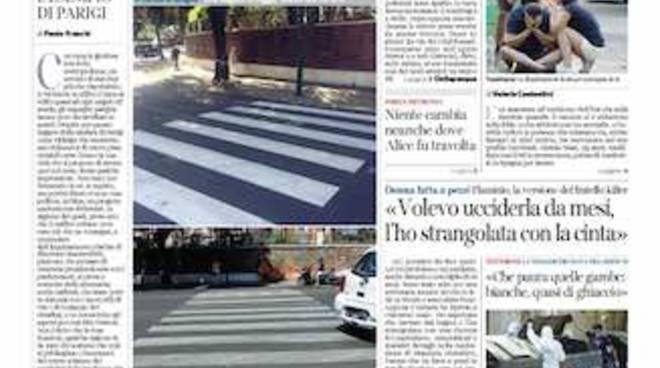 Corriere della Sera_Roma_prima_pagina