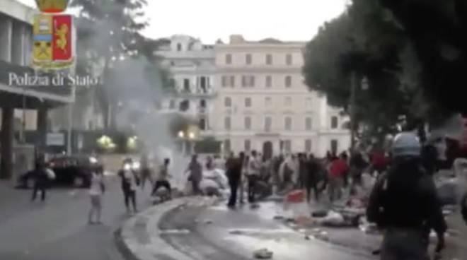 Cronaca di Roma - scontri