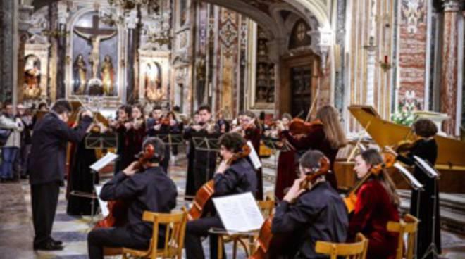 La Roma Youth String Orchestra in concerto