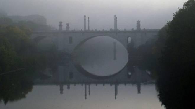 nebbia a Roma