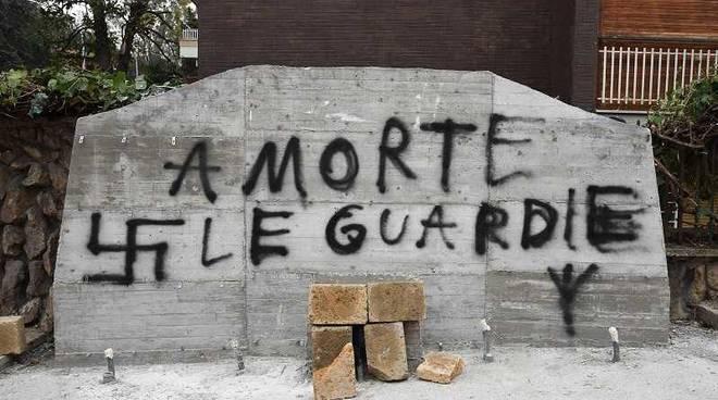 Lapide commemorativa Aldo Moro