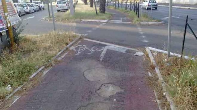 pista ciclabile - togliatti