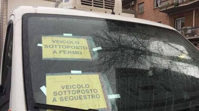 Roma - Sequestro