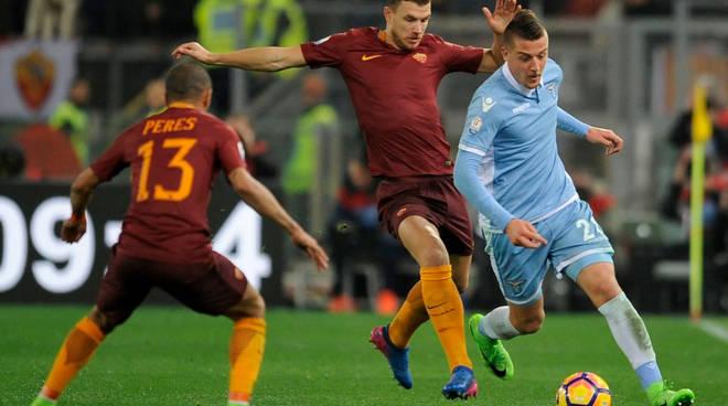 Lazio-Roma: derby d'alta quota per assicurarsi il 3° posto