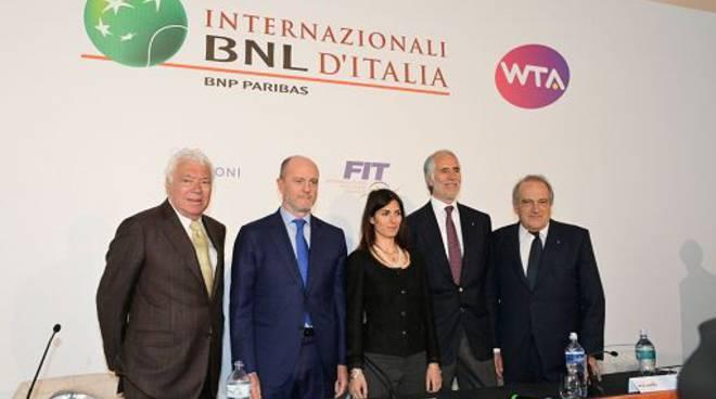 La 75esima edizione degli Internazionali d'Italia ditennis