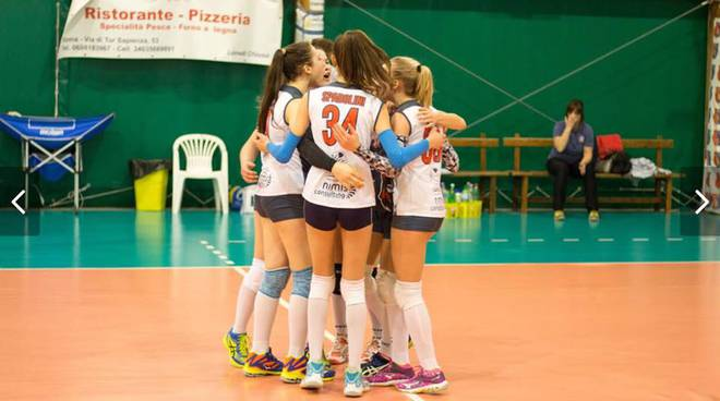 under 14 Volley Frascati
