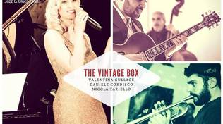 The Vintage Box Trio in concerto al Charity Café