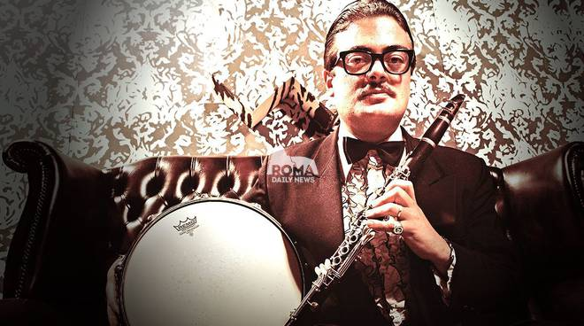 "Emanuele Urso ""The King of Swing\"" Septet in concerto a Village Celimontana"