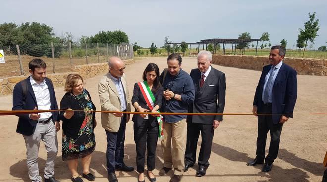 Inaugurazione parco Tor Marancia