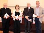 Mons. Feroci, Elisa Manna, Alberto Ugazio, Stefano Vicari