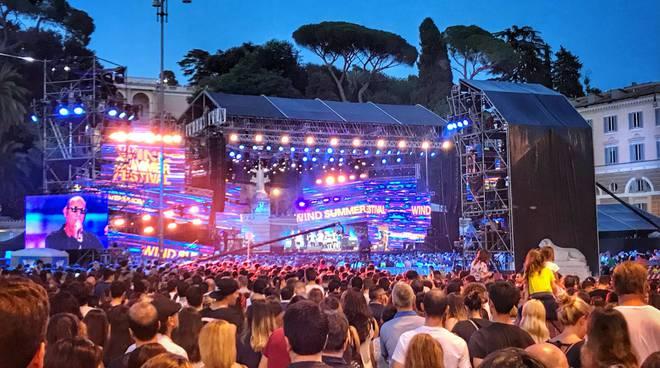 J-Ax-Fedez e Moro a Wind Summer Festival