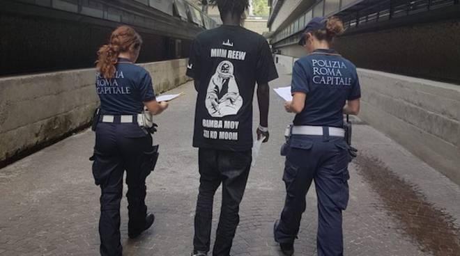 arresto colosseo roma