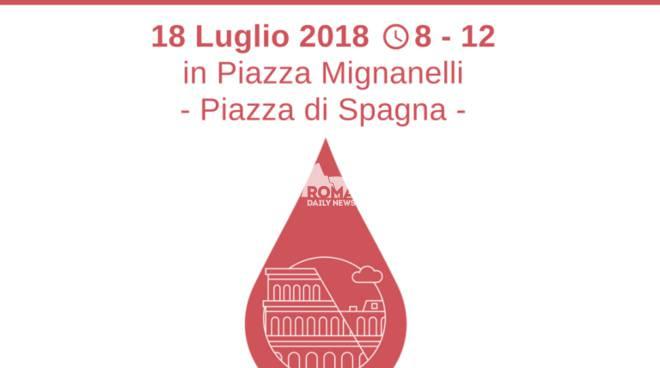 Raccolta sangue d\'emergenza a Roma