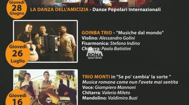 Balcone in Musica - Goinba Trio Musiche dal Mondo